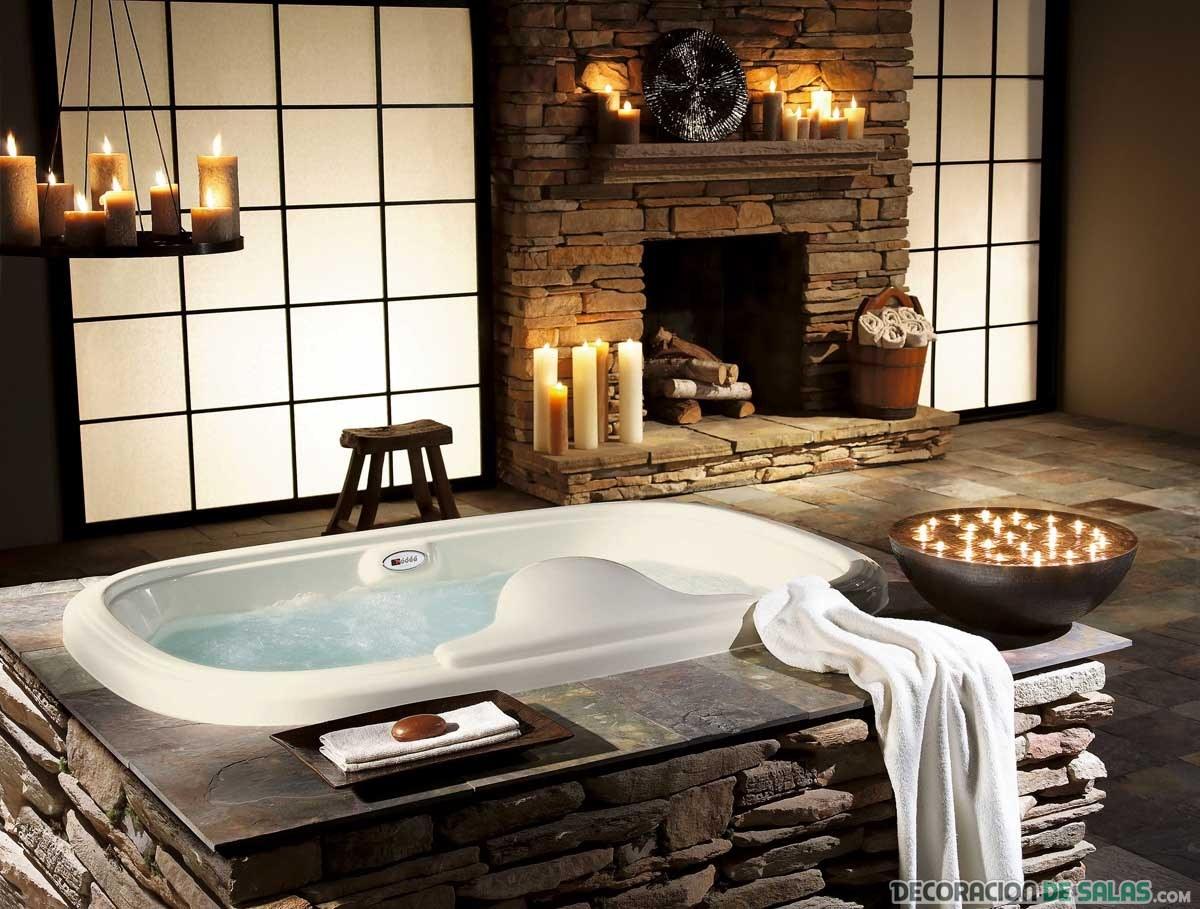 Baños Rusticos Elegantes:baños rústicos muy elegantes