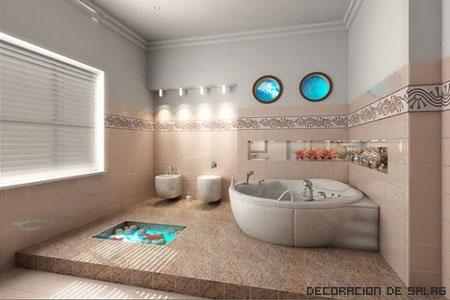 Baños inpirados en la naturaleza