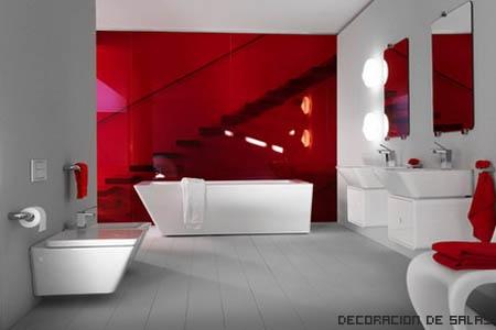 Muebles rojos - Muebles de bano rojos ...