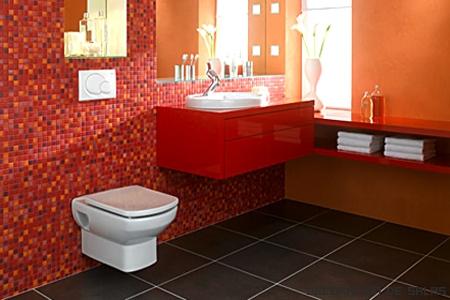 Colores para el cuarto de ba o - Azulejos para cuartos de bano modernos ...