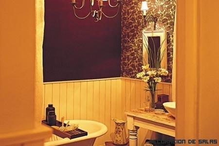 Baño estilo Shabby Chic