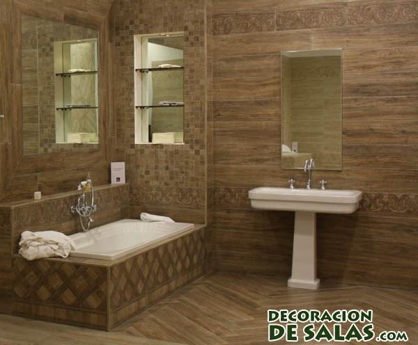 de madera para baños modernos