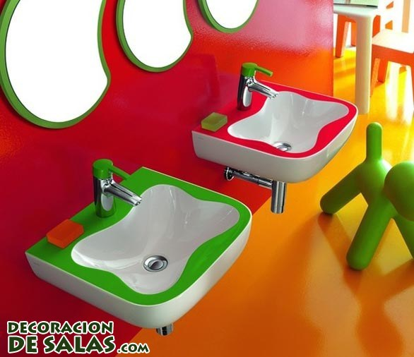 Imagenes De Baño Animadas:Baños infantiles