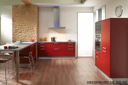 barra cocina amplia