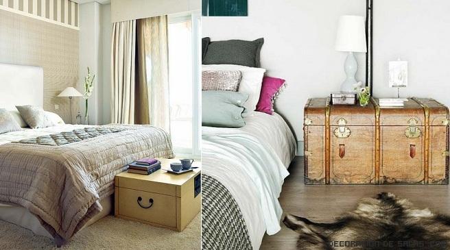 Decoracion con ba les - Baules para dormitorios ...
