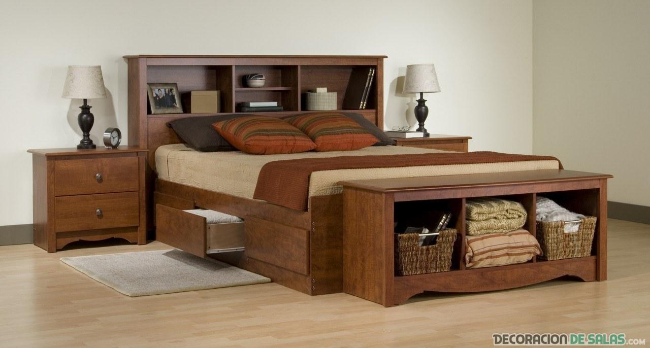 Muebles Auxiliares De Dormitorio Dise Os Arquitect Nicos  # Muebles Pie De Cama
