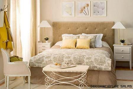 Dormitorio blanco for Dormitorio vintage blanco