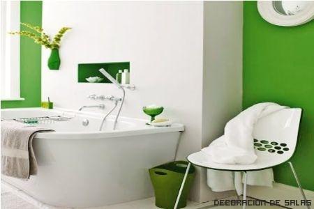 blanco y verde esmeralda