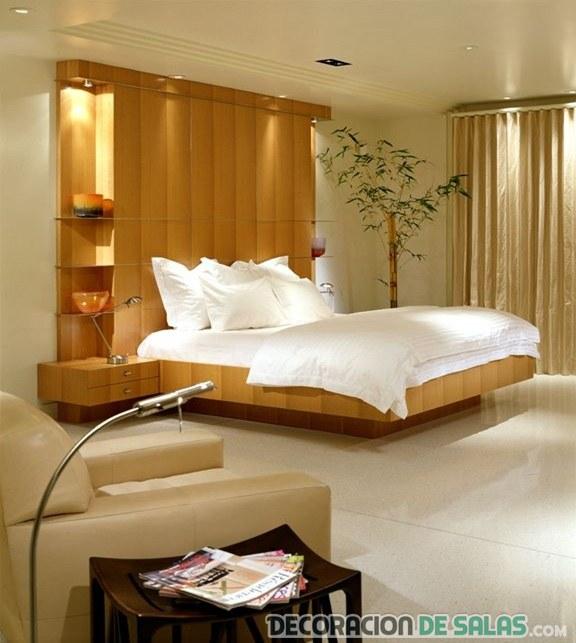 Cabeceros con almacenaje en dormitorio con estilo - Cabeceros con estilo ...