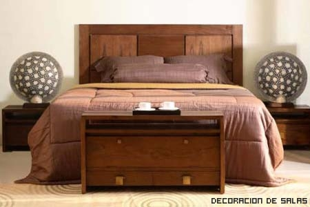 Tipos de cabeceros - Cabezales de cama de madera ...