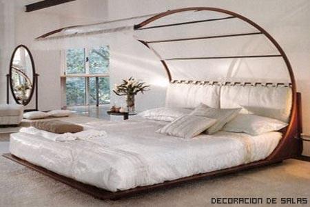 Coloca la cama