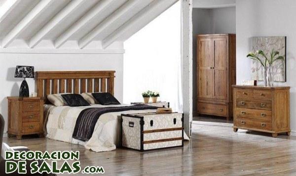 Cabeceros r sticos for Decoracion de habitaciones de matrimonio rusticas