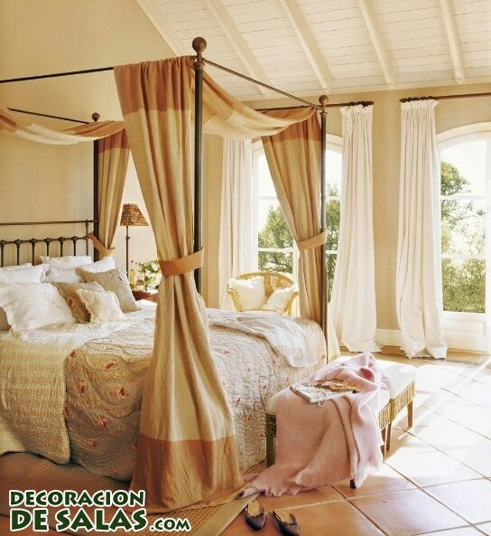 Habitaciones elegantes y camas con dosel - Cama con dosel ...