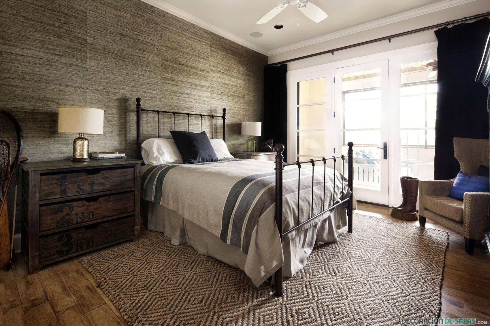Dormitorios modernos y r sticos - Habitaciones de forja ...
