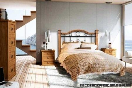 Dormitorios 2013: estilo rústico