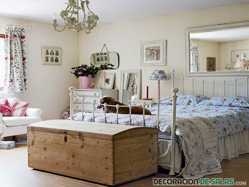 3 ideas de dormitorios vintage for Decoracion de habitaciones vintage