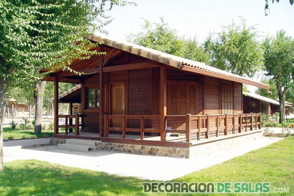 3 casas de madera prefabricadas - Casa pequena de madera ...