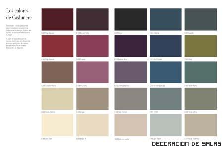 Colores para interiores elegantes - Disenadores de interiores espanoles ...