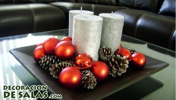Arreglos para mesa muy sencillos de hacer for Centros navidad para mesa