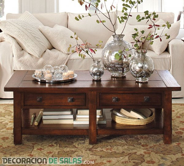 Ideas de centros de mesa para tu sal n - Centro de mesa para salon ...