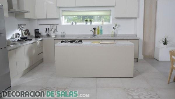 Ideas perfectas para hacer que tu cocina parezca más grande