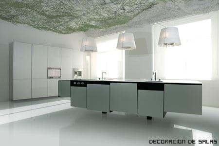 cocina amplia