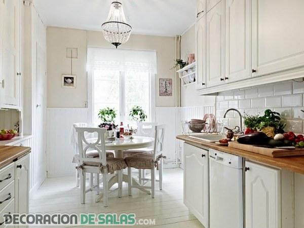 Cocinas con estilo escandinavo