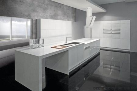 ¿Cocina blanca?