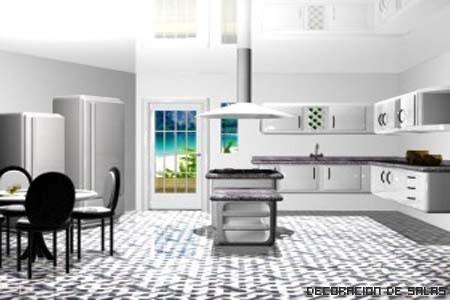 La mesa de cocina m s adecuada for Mesa con cajones para cocina