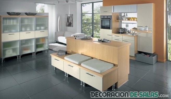 Muebles auxiliares para cocinas for Muebles auxiliares de cocina