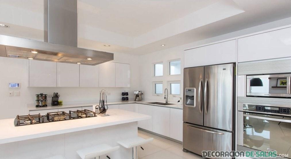 cocina elegante minimalista