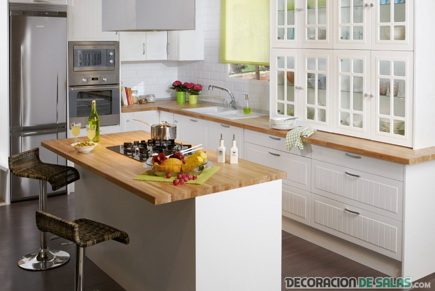 Cocinas modernas de leroy merlin - Cocinas en blanco ...