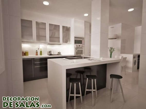nuevas cocinas donde el color negro es protagonista. Black Bedroom Furniture Sets. Home Design Ideas