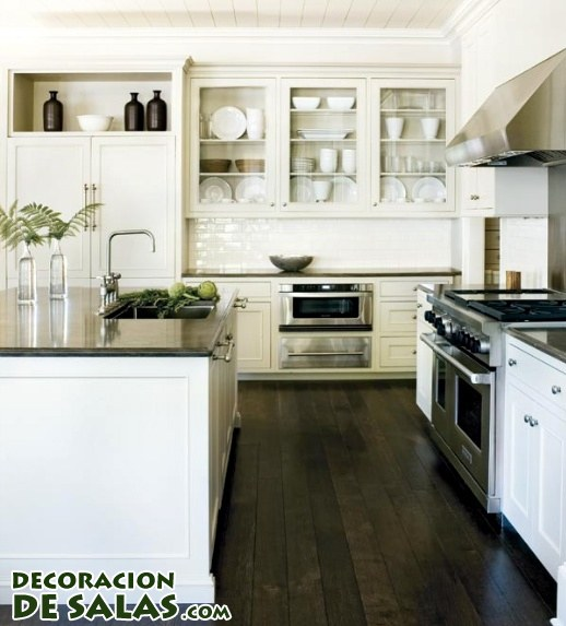 Muebles De Cocina En Color Blanco. Mekablock Kb Mueble Multiusos ...