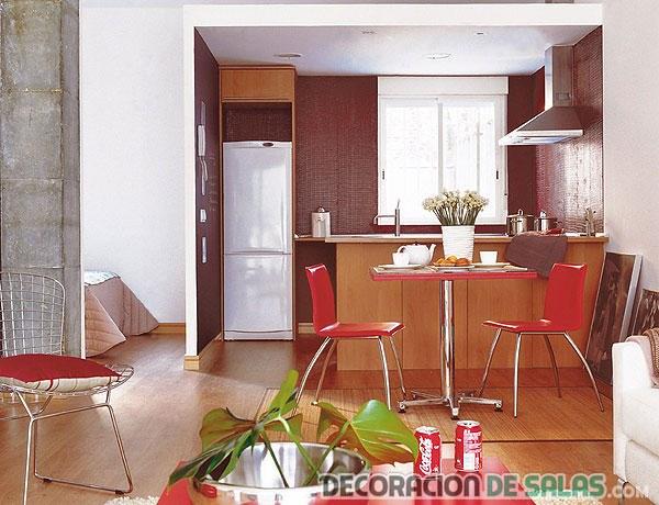 Ideas de cocinas abiertas - Cocinas en esquina ...
