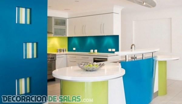 Combinaciones de color para tu cocina