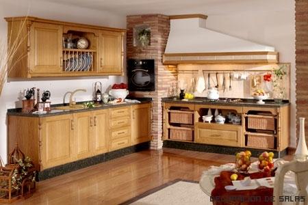 Cocinas a medida - Cocinas madera clara ...