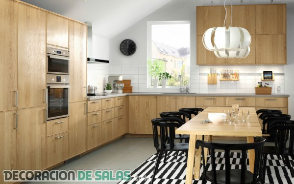 4 cocinas modernas de Ikea