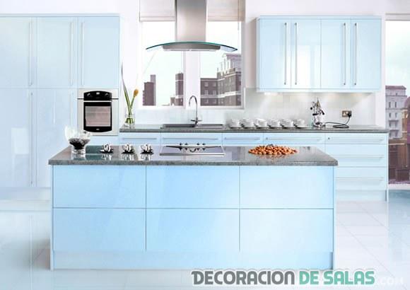 Isla cocina con ruedas elegant isla para cocinas barra for Muebles de cocina islas con ruedas