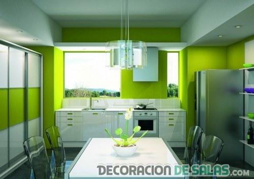 Los mejores colores para pintar tu cocina for Colores para cocinas modernas