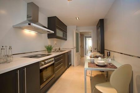 Cocina de espacio reducido - Cocinas sin alicatar ...