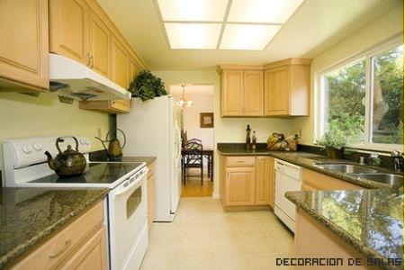 Tipos de cocina for Distribucion muebles cocina