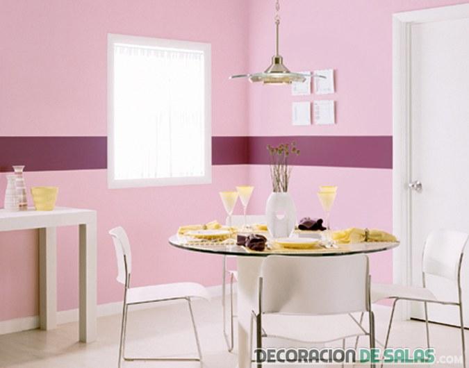Ideas para pintar las paredes de manera profesional - Pintar paredes de dos colores ...