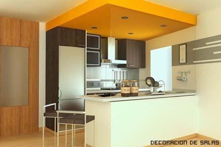 Consejos para una cocina peque a i for Sala cocina pequena