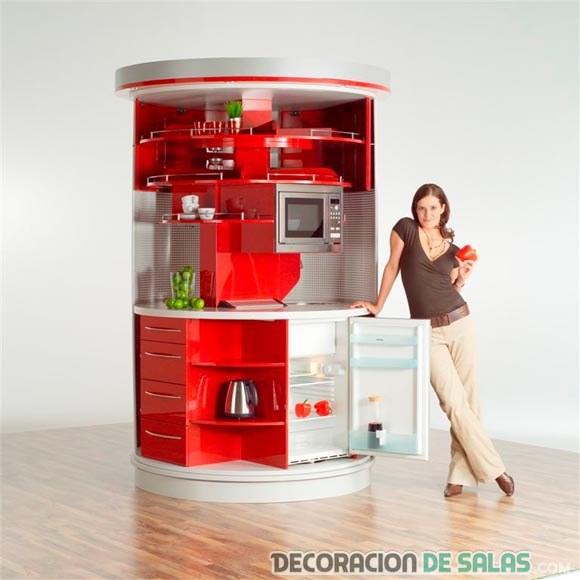 cocina redonda de clever kitchen