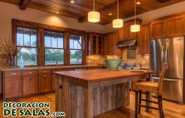 Tres cocinas r sticas muy elegantes - Fotos de cocinas rusticas ...