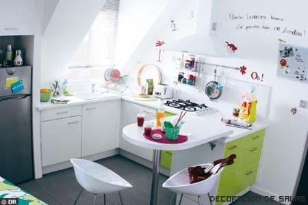 cocina toques de color
