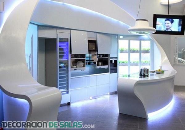 Modelos de cocinas ultra modernas for Modelos cocinas integrales modernas