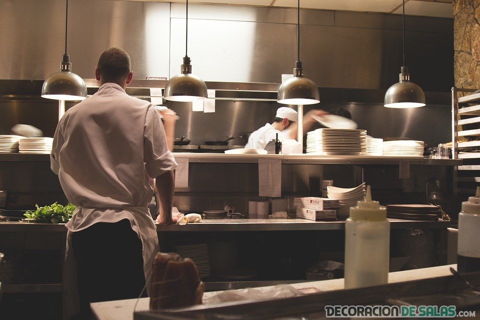 cocinas limpias acero inoxidable