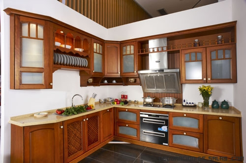 Cocinas en madera for Modelos de cocinas chiquitas